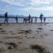 Field School on the beach