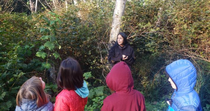 Gisele Martin teaching youth